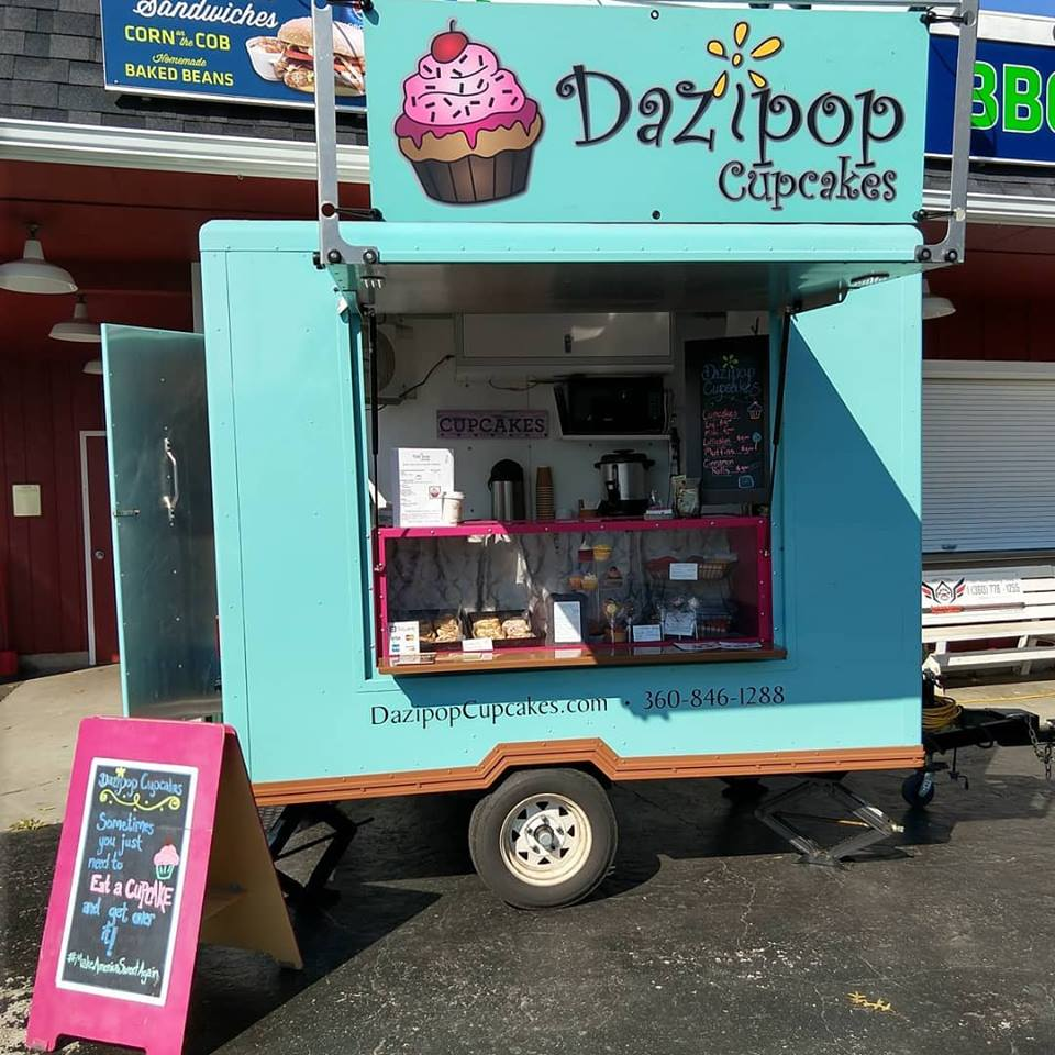 Dazipop Cupcakes - Gourmet baked goods & dessertsFind on FacebookTwitter: @DazipopCupcakesWebsite: www.DazipopCupcakes.comPhone: 360-362-9280Business Email: dazipop@gmail.comAvailable for cateringAlso serves in Lynden, Ferndale & Everett