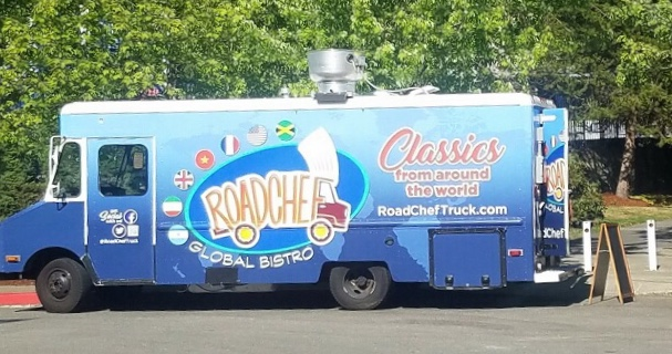 Road Chef Global Bistro - High Quality Comfort FoodFind on FacebookTwitter: @roadcheftruckWebsite: roadcheftruck.comPhone: 425 984 3103Email: daniel.paul.cohen@gmail.comAvailable for cateringAlso serves in Seattle, Bellevue & Woodinville