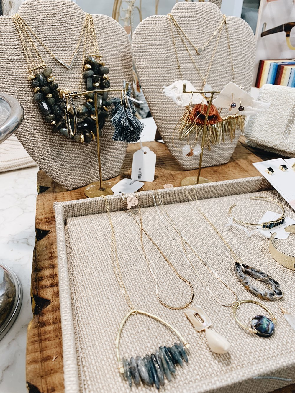 hand-crafted necklaces