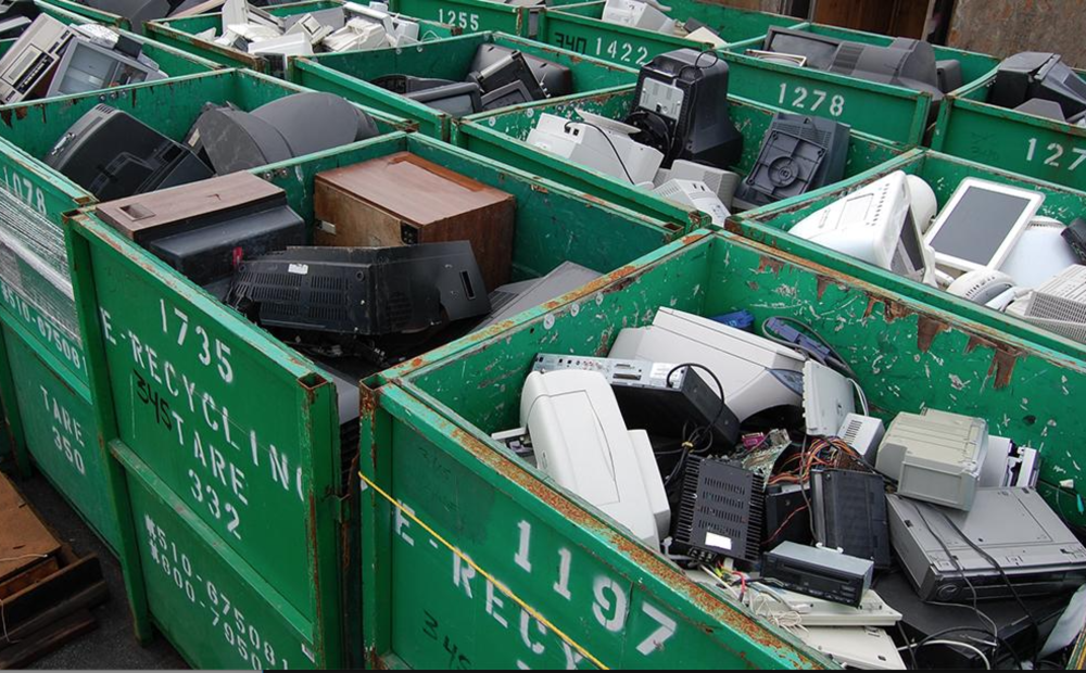 Electronic recycling -