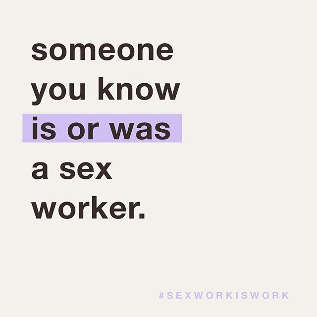 and if you don't think so, guess again. sex work comes in many forms, just like the people that do it. we are your relative, a neighbor, a co-worker, someone you went to school with, someone you're friends with. we are everywhere & we cannot be erased. IG can shadow ban us, banks discriminate, politicians pass laws and measures that harm us while secretly hiring us, but here we are. we exist. we are real...and so is sex work. 💜