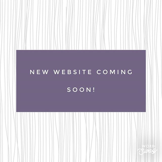 We are so excited to show you all our New website soon! Stay tuned! 🖤💜