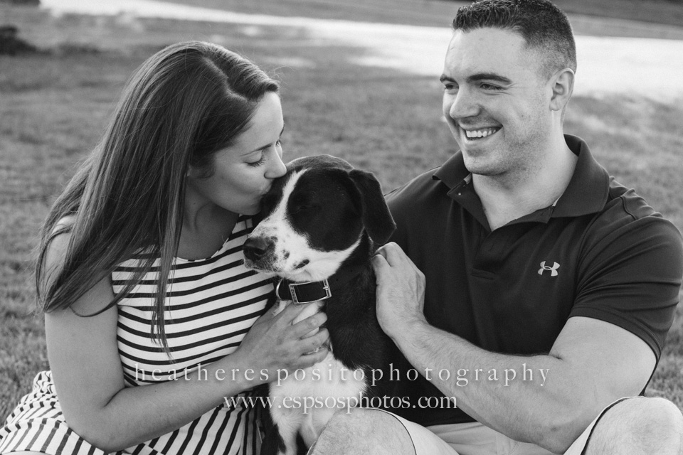 dog save the date — Heather Esposito Photography   Weddings