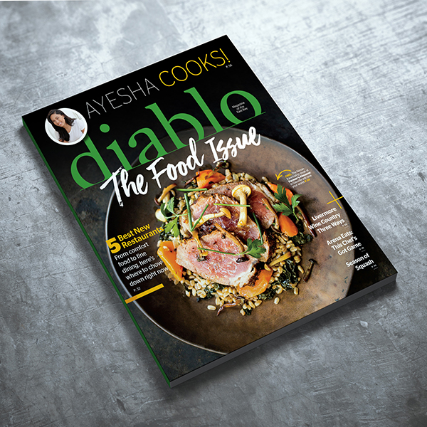 Diablo Magazine: folio gold award-winning issue photo: nat & cody gantz