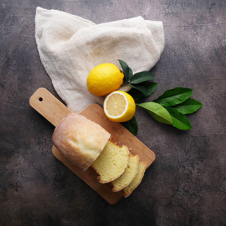 Classic Lemon Pound Cake