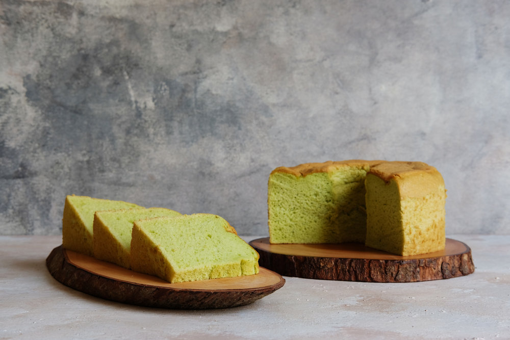 Predictably good; this is the Pandan Chiffon Cake you've always wanted
