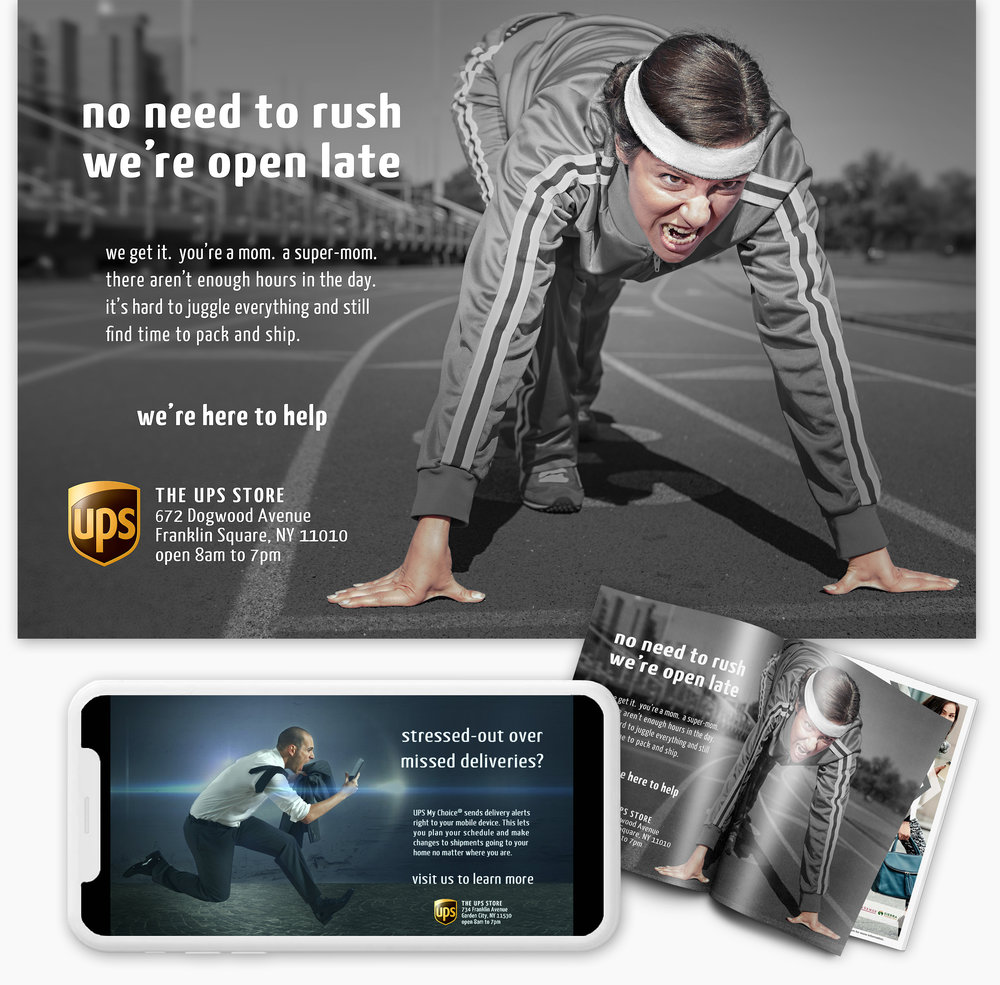 The UPS Store Print & Digital Ads