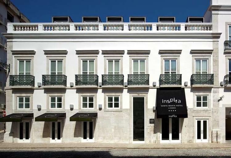 Inspira Santa Marta Hotel | Lisboa     O seu Boutique Hotel no coração de Lisboa.
