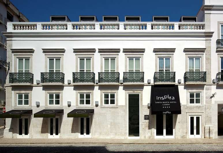 Inspira Santa Marta Hotel | Lisboa     Son Boutique Hotel au coeur de Lisbonne.