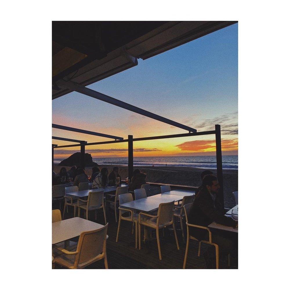 Bar do Peixe | Meco     L'immensité de la plage.