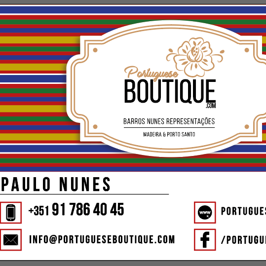 Portuguese Boutique - We represent a group of Portuguese brands and products in the area of food and beverages.Our mission is to Take the Treasures of the Earth to the People of the World.We customize our products for companies and individuals.