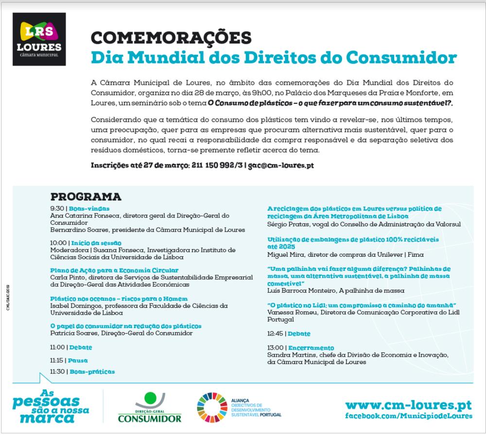 A Palhinha de Massa - Dia Mundial dos Direitos do Consumidor Câmara Municipal de Loures.png