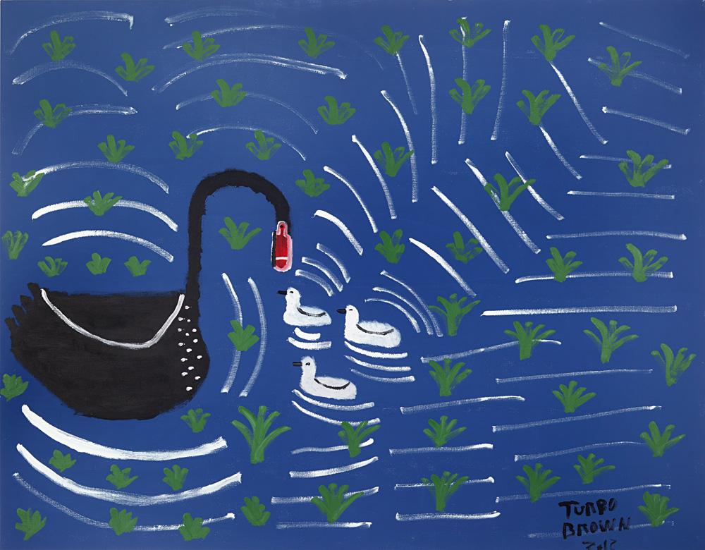 Black Swan In A Wonderland Dreamtime, 2012.