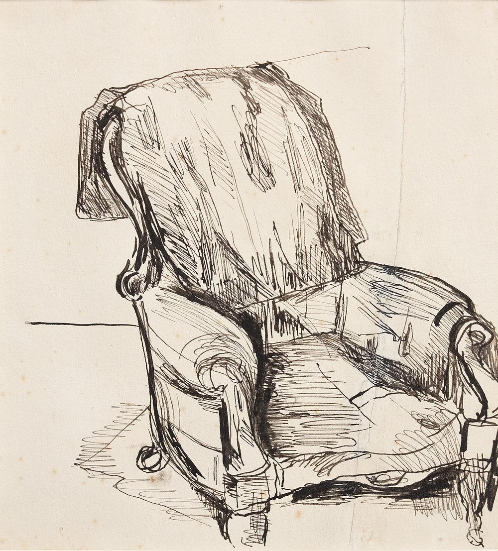 Colin McCahon, Armchair, circa 1939
