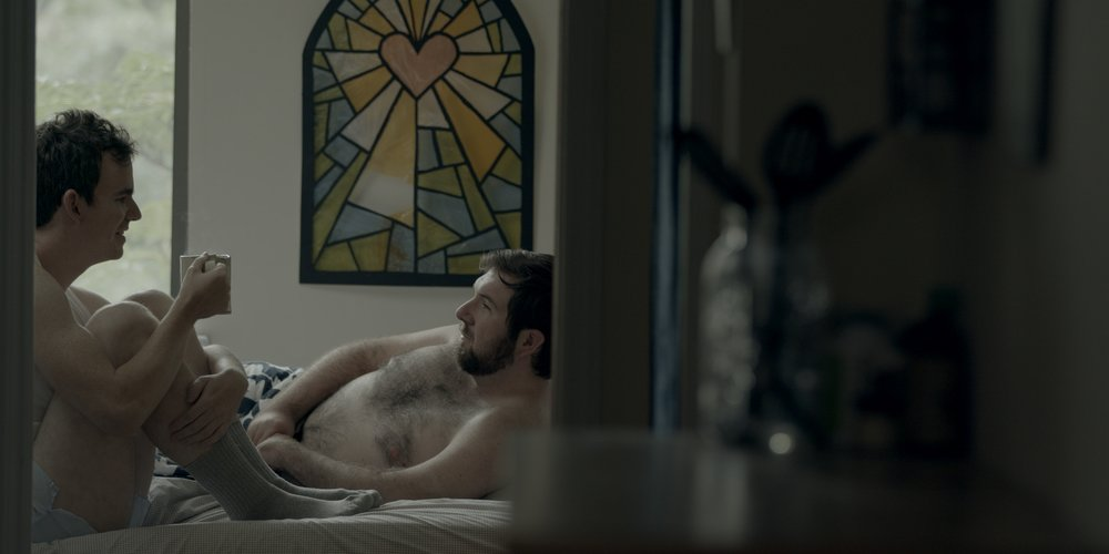"""scene from the web series """"the feels."""" it's about bisexuality, mental health, and gender."""