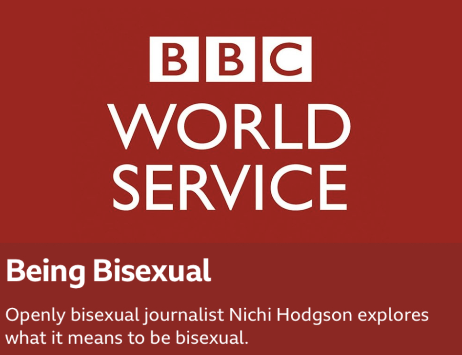 """BBC WORLD SERVICE: BEING BISEXUAL DOCUMENTARY FEATURING WEB SERIES """"THE FEELS"""" WITH TIM MANLEY AND NAJE LATAILLADE."""
