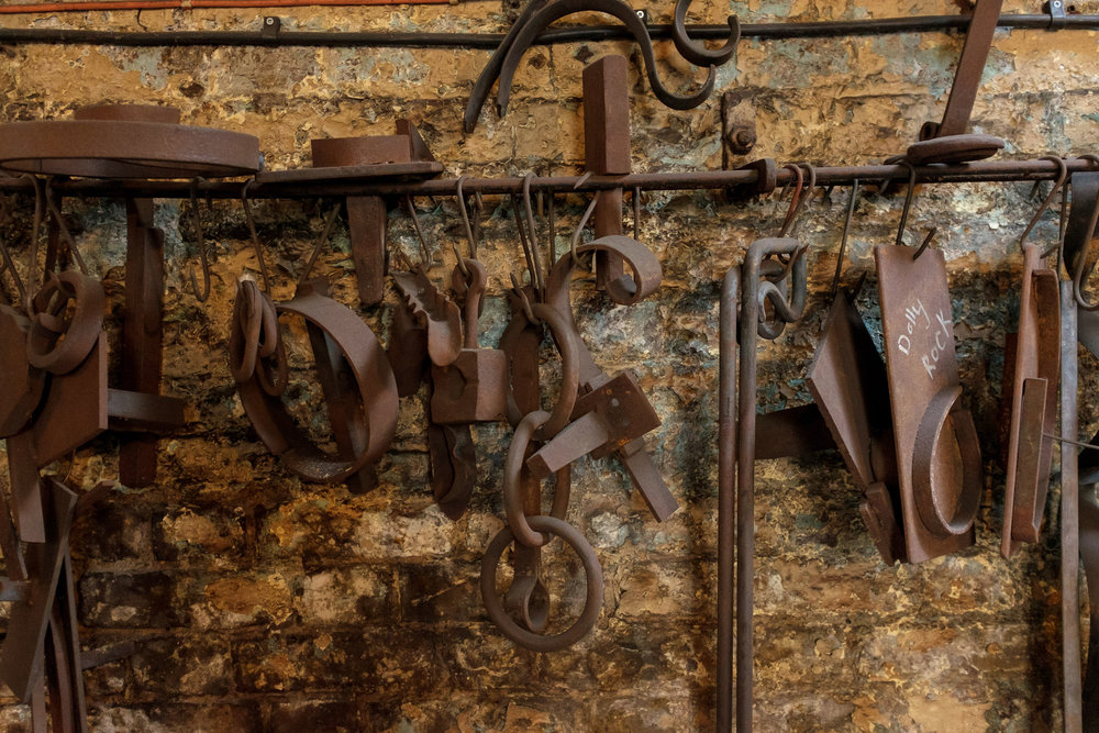 Hot-Metal-Works-Blacksmith-London-Forge-Wall