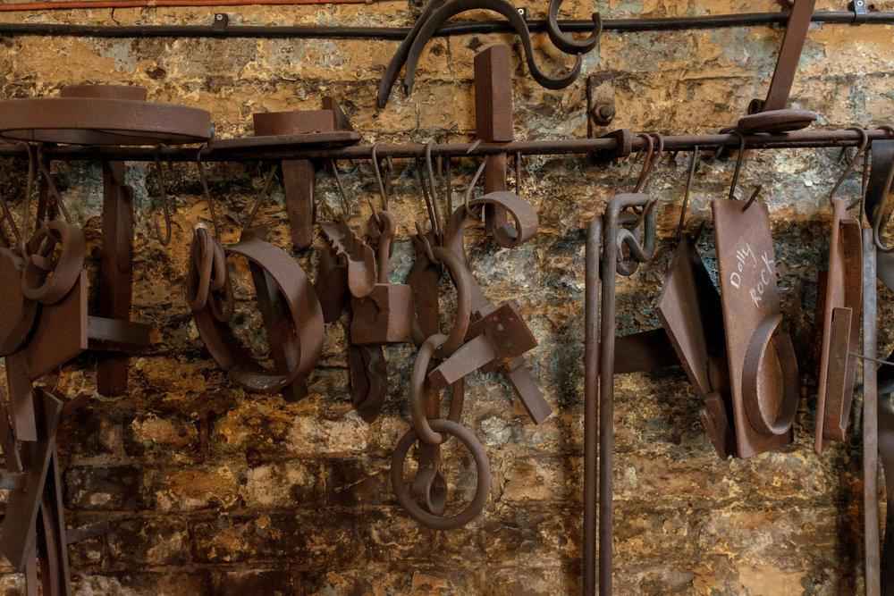 Hot-Metal-Works-Blacksmith-London-Forge-Wall