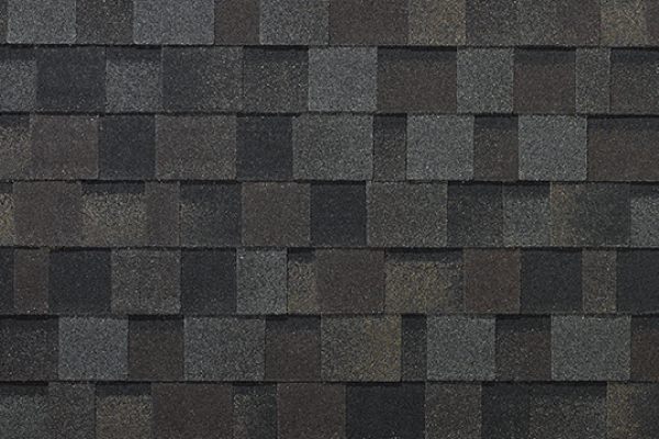 iko dynasty asphalt shingles - These shingles provide extraordinary color blends, as they are manufactured with 'dragon's teeth' - a random pattern created by staggering their size and position.