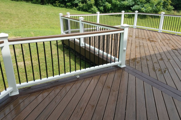composite decking - The enduring beauty and hassle-free maintenance of wood-alternative composite decking continues to grow in popularity. Composite decking is more resistant to the elements, splinter free, and low stress.