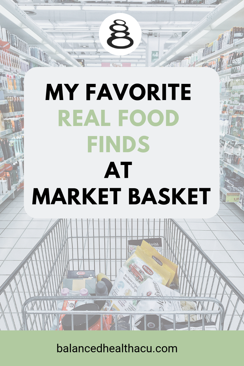 I love when I can find clean, real food options at my local grocery store. Check out my favorite real food items that I purchase at my local Market Basket grocery store.