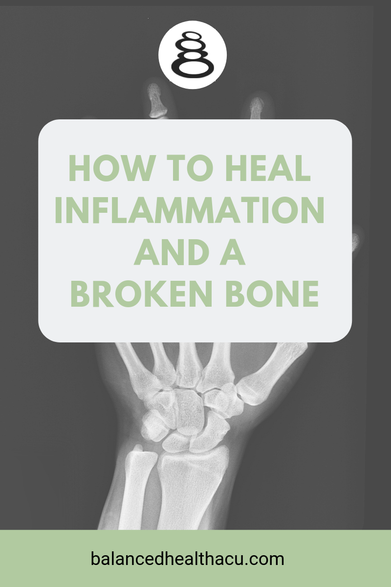 Fracturing my wrist brought out my inner healer to find ways that I could heal my inflammation and my broken bone fast while addressing the pain. Check out my tips here!