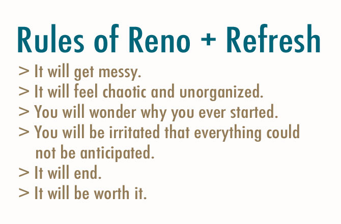 Rules of Reno + Refresh