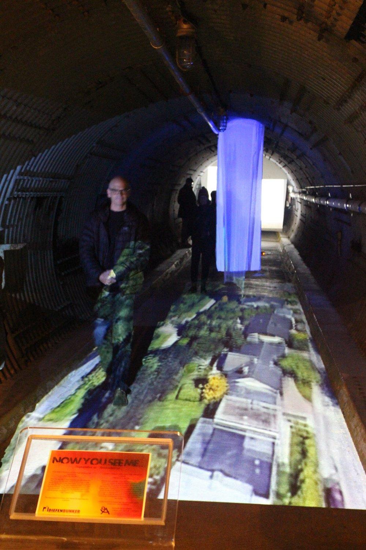 Multichannel video installation @ Diefenbunker Museum, Carp 2018