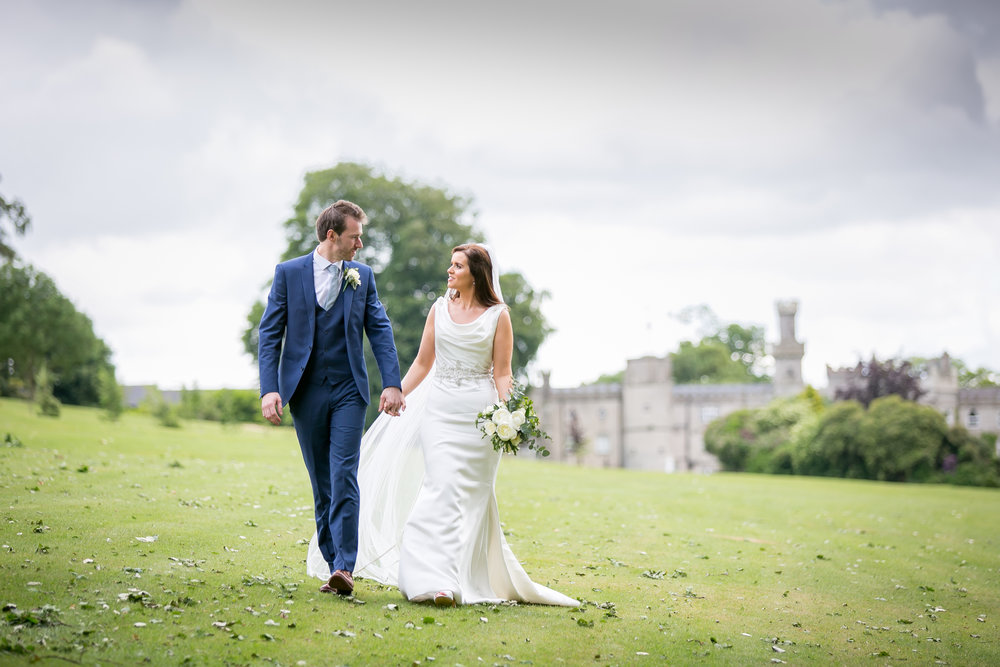Ciara & Andrew @ Cabra Castle - Evoke.ie