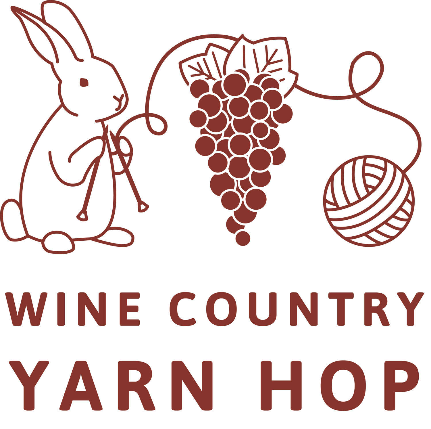 Wine County Yarn Hop