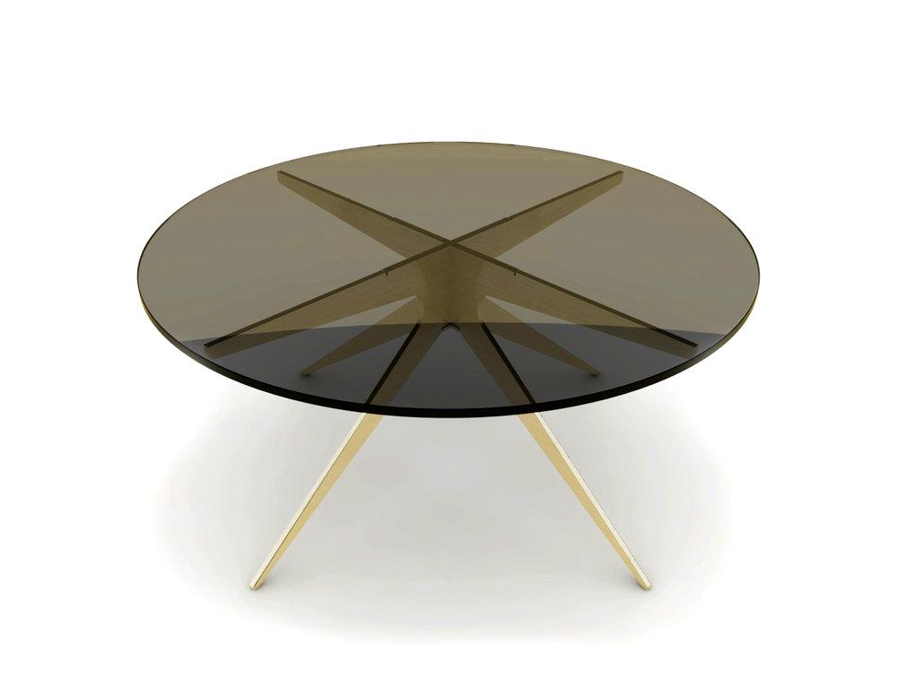 DEAN Round Coffee Table - Brass: Bronzed.jpg