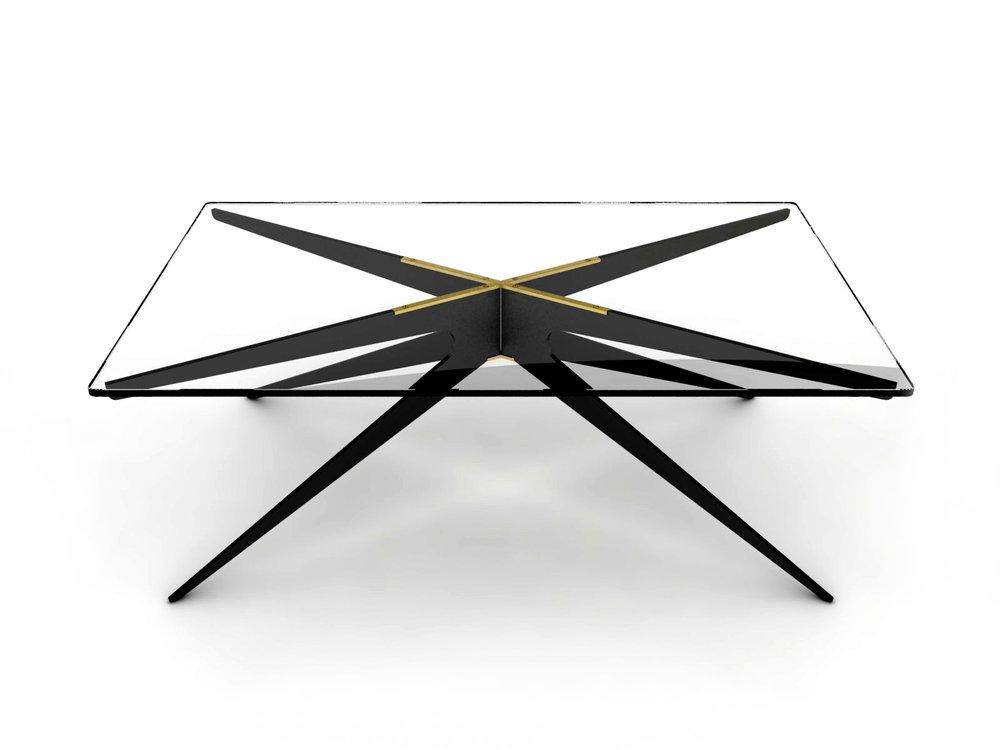 DEAN Rectnagular Coffee Table - Black: Clear.jpg