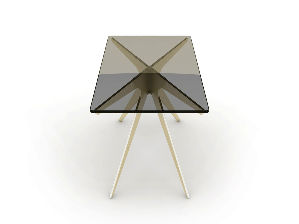 DEAN Rectangular Side Table - Brass: Smoked 2.jpg