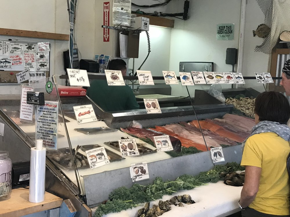 Phil's Famous Fish Market in Moss Landing, CA