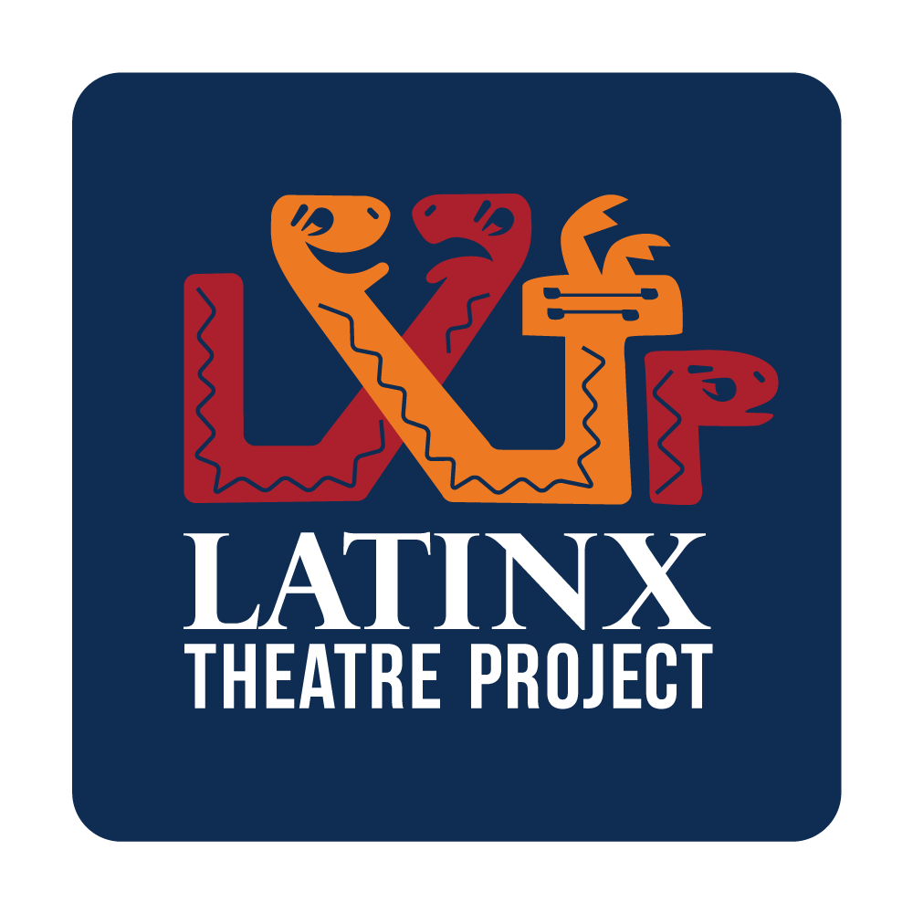 LATINX THEATRE PROJECT - Logotype, symbol, typography, colors, brand style guide, and color and black and white files for print and web.@latinxtheatreproject