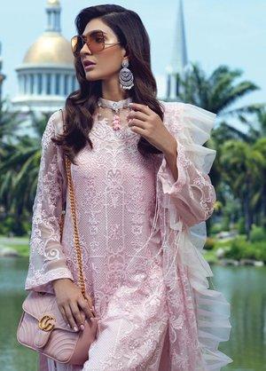 a0530befff Original Rang Rasiya Embroidered Chiffon Unstitched 3 Piece Suit 5017 - Eid  Collection Pakistani Designer