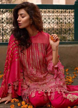 66b4a75913 Original Banaras By Noor Textiles Embroidered Zari Net Unstitched 3 Piece  Suit B03 - Spring / Summer Collection