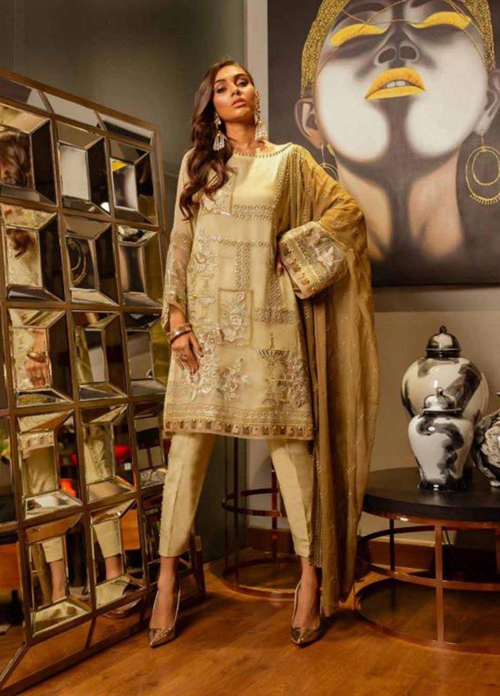 Women Salwar Kameez 3pc stictch Costume