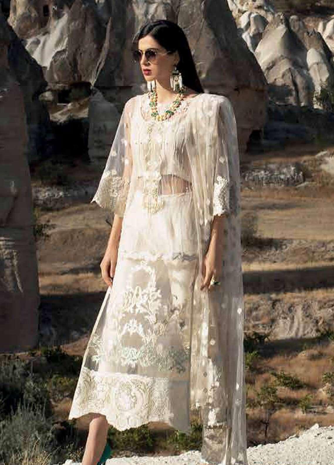Zainab Chottani 2019 Latest Embroidery Collection Pakistani Shalwar Kameez Suit