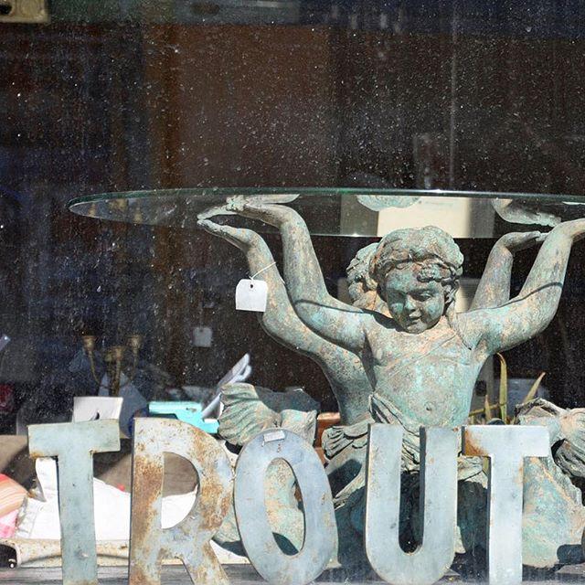 Fred E. Trout + Co. on #warrenstreet #visithudsonny #antiqueshop #hudsonvalleyantiques
