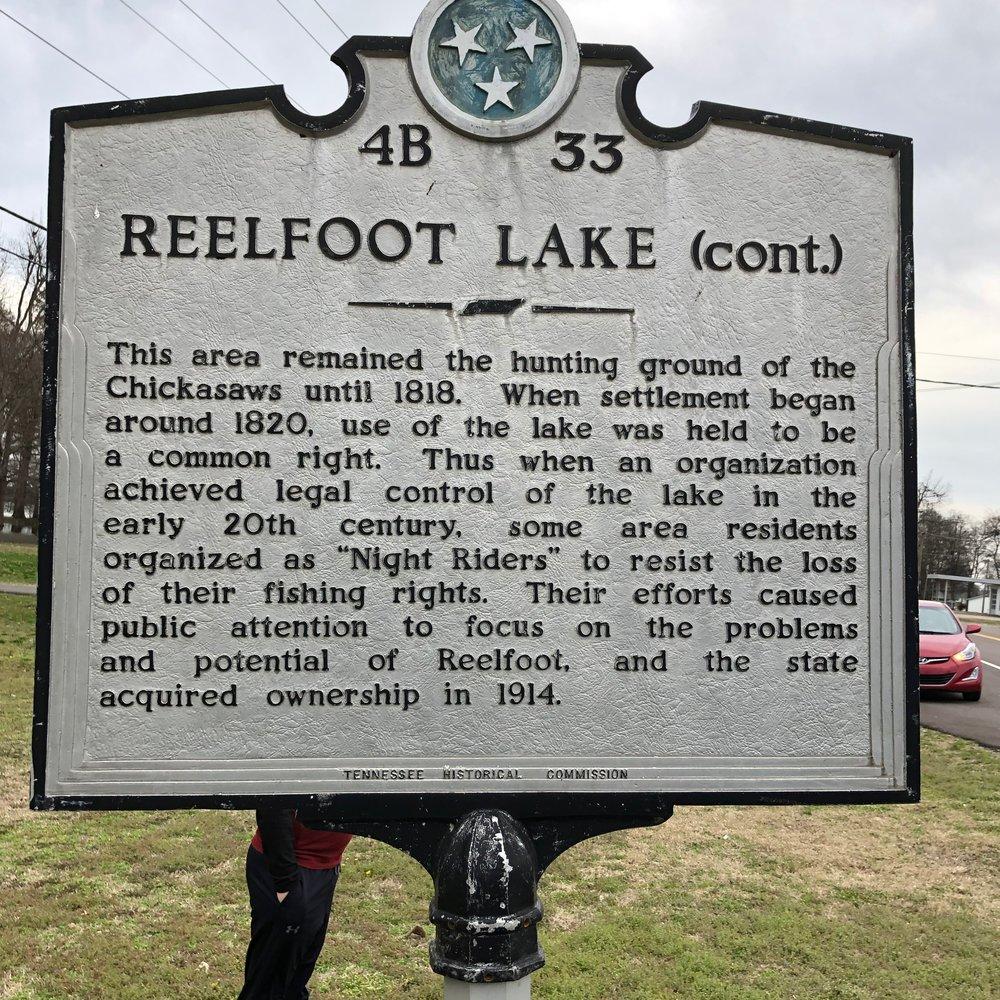 Reelfoot Lake Marker Back, Tiptonville, TN.jpg