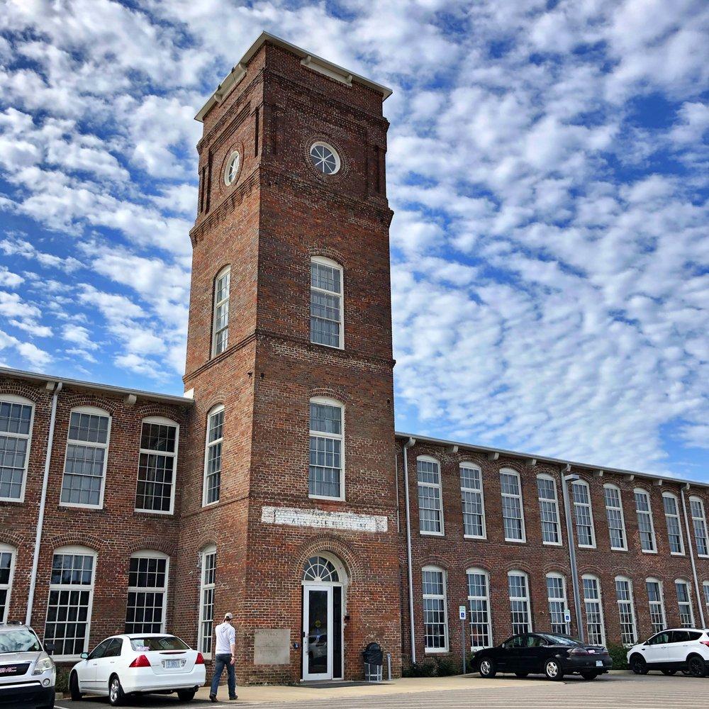 Former John M. Stone Cotton Mills, Starkville, Mississippi … Photo by Caroline Pugh