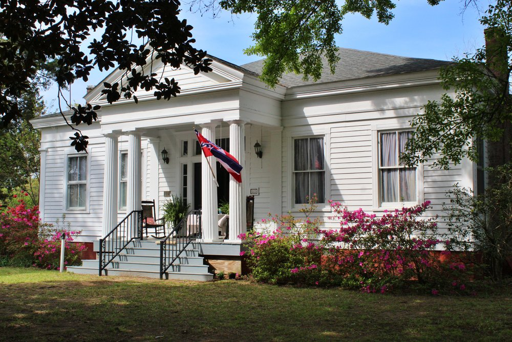 Sunset Manor, Aberdeen, Mississippi, 1836