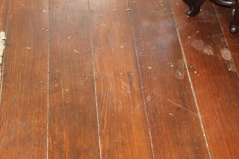 original flooring