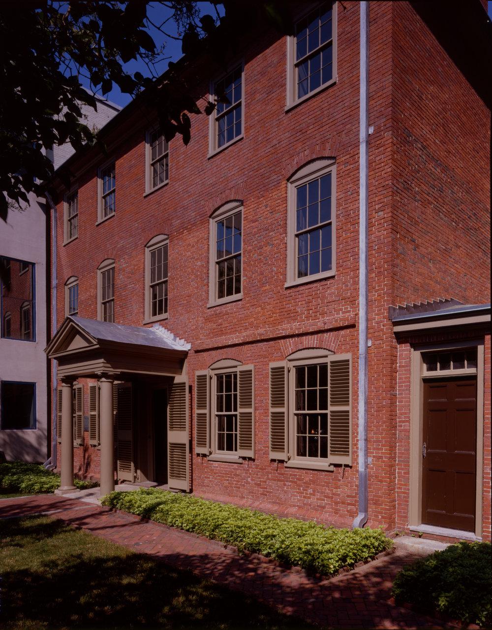 Wadsworth-Longfellow House … Courtesy of the Maine Historical Society