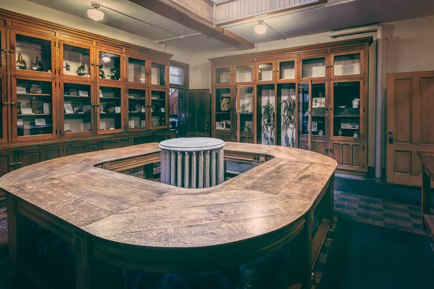 Anatomical Room … Courtesy of the Indiana Medical History Museum and Tom Mueller Photography