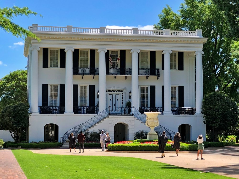 University of Alabama President's Mansion, 1841 … Photo by Caroline Pugh