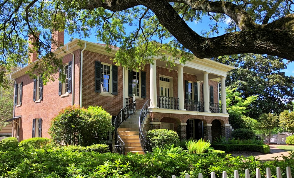 Gorgas House, Univ of AL, 1829 … Photo by Caroline Pugh