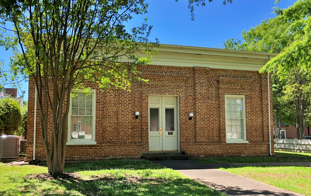 Maxwell Hall, Univ of AL, 1844 … Photo by Caroline Pugh