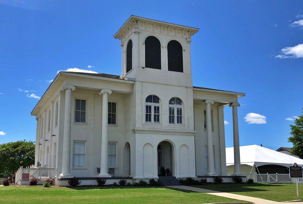 Jemison-Drish House, 1830s … Photo by Caroline Pugh